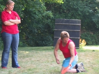 Dogfrisbee Anfänger 22.07.2006