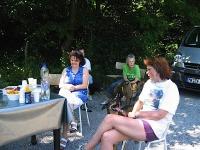 Dogfrisbee Aufbaukurs mit Karin am 01.07.2006